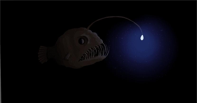 el pez rape se caracteriza por la luminiscencia