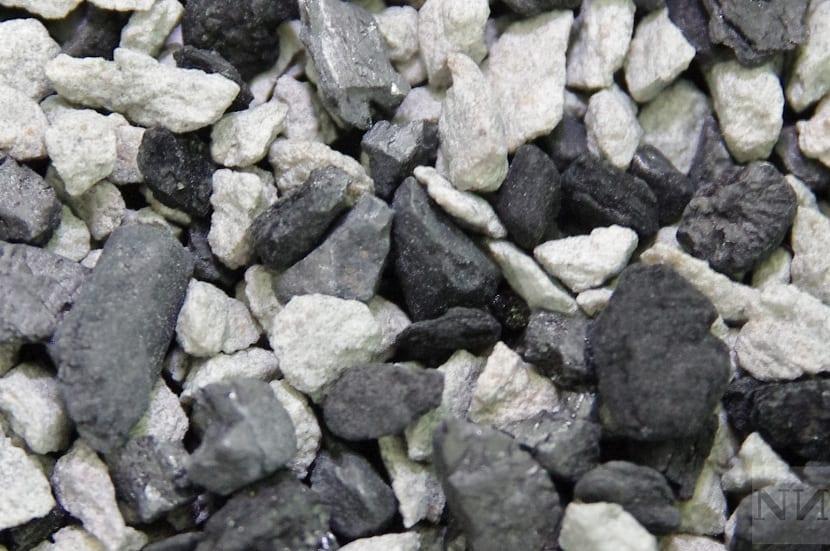 Zeolita y carbón activo