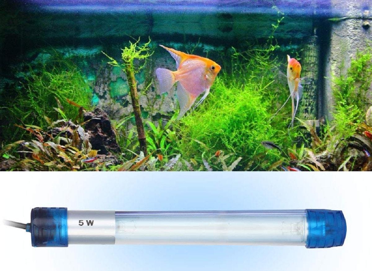 potencia de lampara uv para acuarios